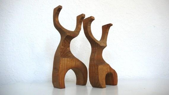 Mod Wooden Deer