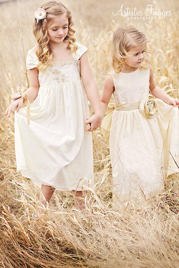 Vintage Flower Girl Dresses Nz - Wedding Dresses In Jax