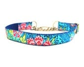 1 Inch Wide Martingale Dog Collar Cavalier