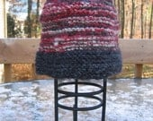 Colors of an Old Country Barn - Hand knit Adult Hat