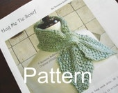 Pattern PDF, Hidden Loop Scarf, Ascot, Instant Download