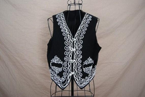 SALE Vintage black mariachi moroccan by MedusaModernaVintage