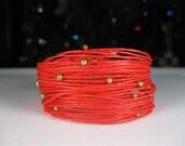 Wikkitz Bracelet in Coral