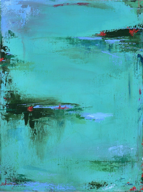 Contemporary Abstract Landscape Painting-original fine art
