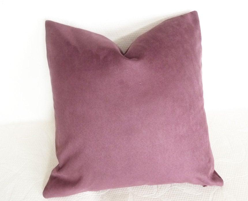 Purple toss pillows amethyst throw pillow by pillowthrowdecor for Amethyst throw pillows