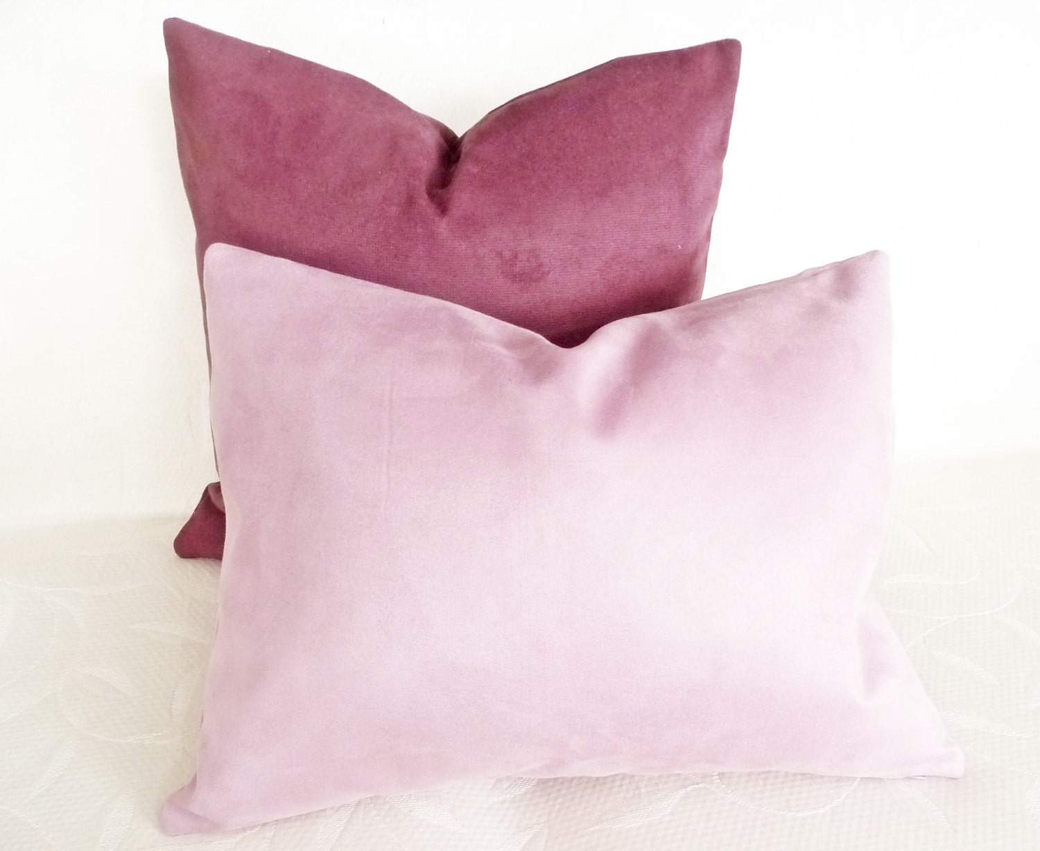 Decorative Pillow Lilac : Lilac Pillows18x18 Decorative Throw Pillows by PillowThrowDecor