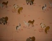 Heather Ross Horse Fabric 1.5 yards