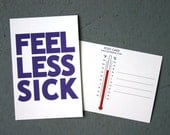 Postcard: Feel Less Sick