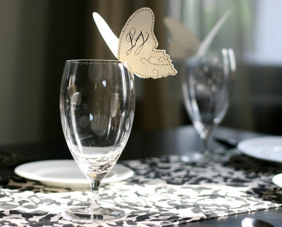 Butterfly Place Cards - set of 50
