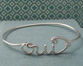 Oui Bracelet in Sterling Silver