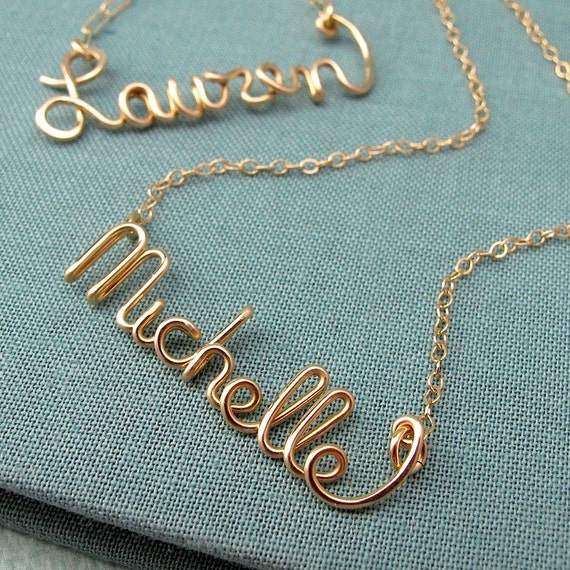 Name Necklace Personalized Jewelry amp Necklaces