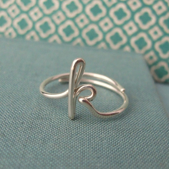 Custom Initial Ring-any initial available