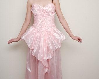 Pink Princess Prom dress