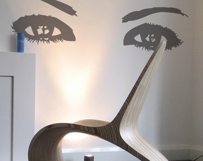 Sexy Eyes Wall Sticker, Vinyl Decal