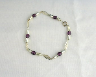 Glass Bead Bracelet. Listing  40578862
