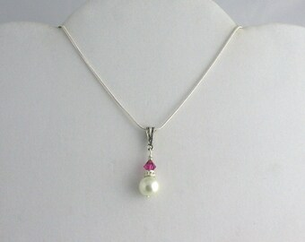 Bridesmaid Necklace. Listing  45033953