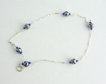 Glass Bead Anklet. Listing  46104428