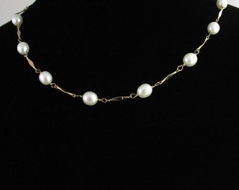 Freshwater Pearl Necklace Set. Listing  52812559
