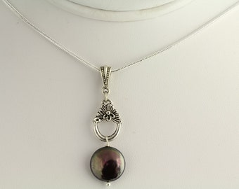 Freshwater Pearl Pendant. Listing 59129937