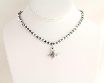 Hematite Necklace. Listing  61912682