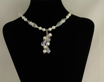 Bridal Freshwater Pearls Necklace. Listing 76006242