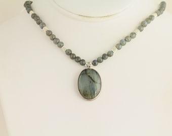 Labradorite Necklace. Listing 85142632