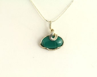 Dyed Agate Pendant. Listing 85747597