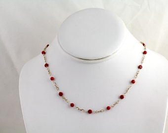 Coral Necklace. Listing  95113713