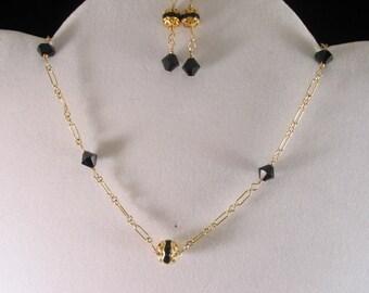 Crystal Necklace Set. Listing  20849567