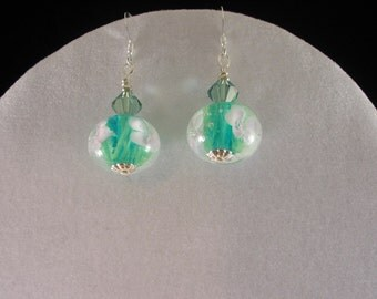 Floral Bead Earrings. Listing  20851186