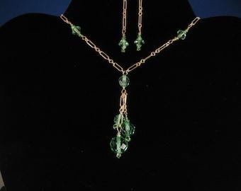 Crystal Necklace Set. Listing  21266258