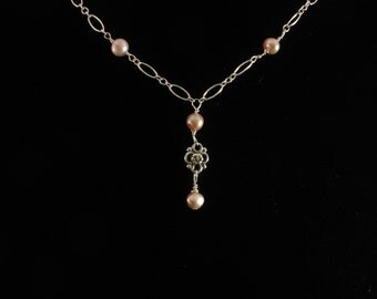 Bridesmaid Freshwater Pearl Necklace . Listing   21450285