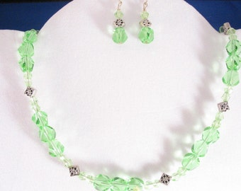 Glass Bead Necklace Set. Listing 21774664