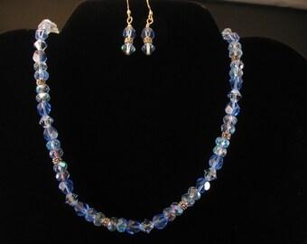 Glass Necklace Set. Listing  22209149