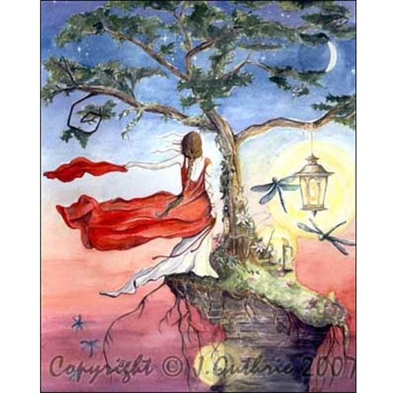 Leap Of Faith Signed Giclee Art Print