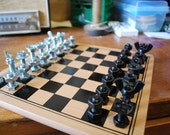 Nut and bolt Chess Set