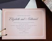 Elizabeth & Nathaniel Wedding Invitations