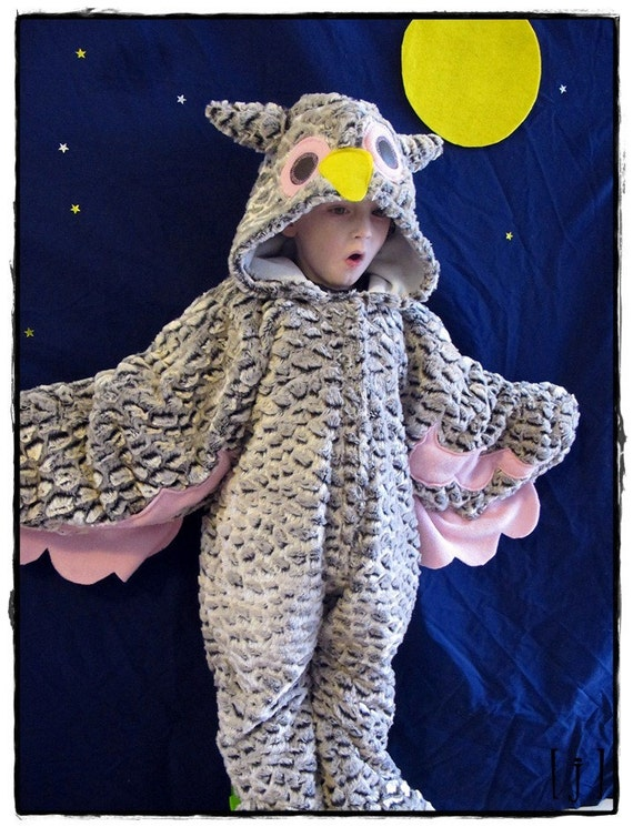 Little Girl Owl Costume 6 to 12 months