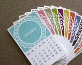 2011 CALENDAR - Mini English Series (Printable)
