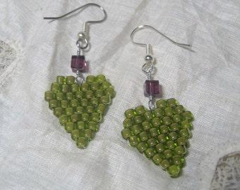 Envious Hearts Earrings
