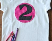 2nd Birthday Tee- Ready to Ship - 2T