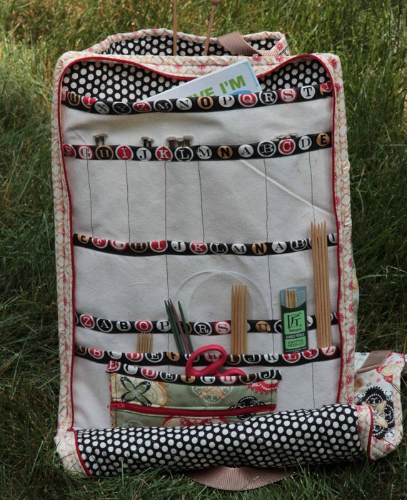 Pattern for Knitting Needle Caddy Unique Design Carry it All