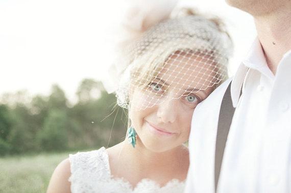 OOAK Sonora Nacozari Turquoise & Herkimer Diamond Earrings in Sterling Silver / wedding bridal boho indie jewelry