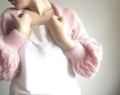 New Item-Express Shipping-S-SM Pink Shrug-