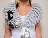 Hight Fall Fashion,Best Colour,Most Populer Grey-Gray Scarve and Stole,For The Lovely Gift, Valentine's Day,Best Xmas&New Year Gift