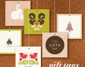 DIY printable gift tags & cards. perfect for holidays and special events.