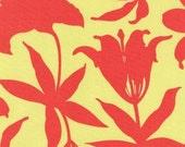 Joel Dewberry, Manzanita, Lily in  Salmon - 1 Yard Clearance