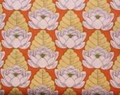Amy Butler-Lotus-Lotus Pond in Tangerine AB21- 1 Yard