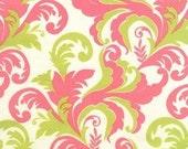 Clearance-Sandi Henderson for Michael Miller, Meadowsweet, Grand Foliage in Petal (SH4240) - 1 Yard