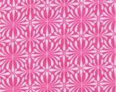 Kate Spain for Moda, Terrain, Lichen in Berry Pink 27098.12 - 1/2 Yard